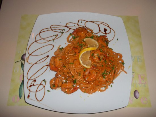 Escape: Shrimp spaghetti = Yummy