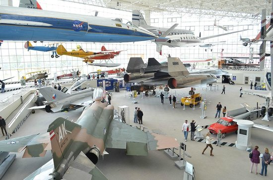 The Museum of Flight: Most of the planes inside the museum