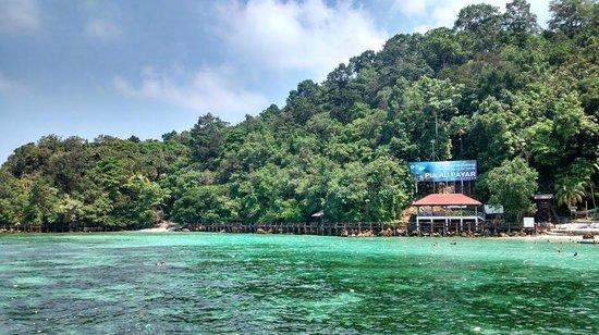 Pulau Payar Marine Park: Beautiful from afar.