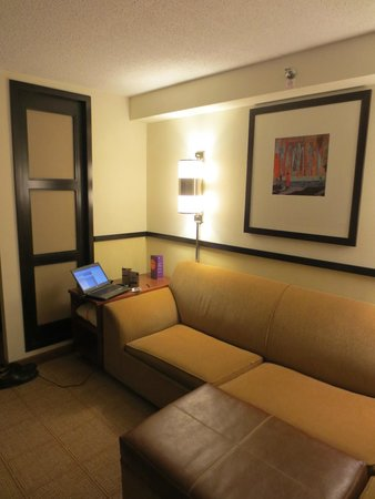 Hyatt Place Auburn Hills : TV area