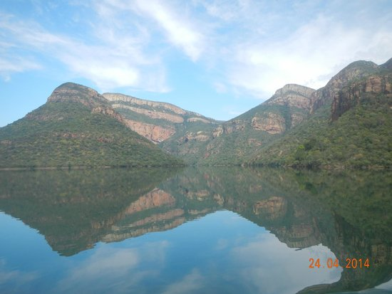 Amafu Forest Lodge: Blyde river boat trip...