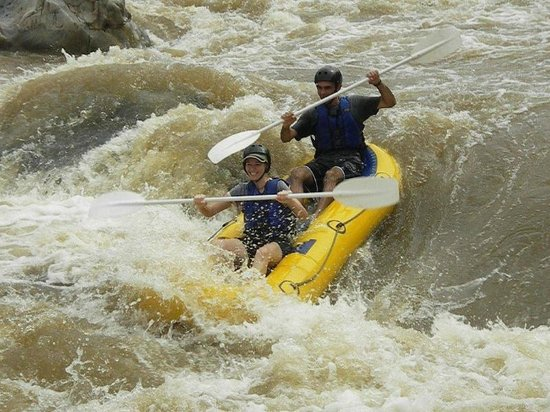 Amafu Forest Lodge : White-water rafting down the Olifants River or Blyde River...