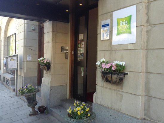 Ibis Styles Stockholm Odenplan: Hotel Entrance