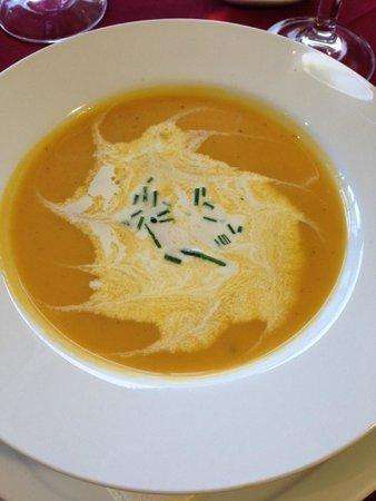 MacKinnon Country House Hotel: Butternut Soup