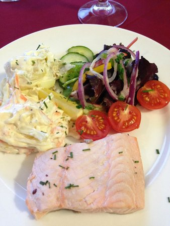 MacKinnon Country House Hotel: Cold Salmon Salad