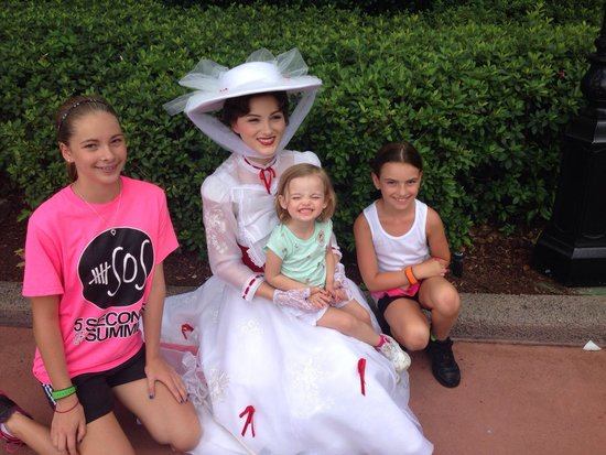 Mary Poppins is at Epcot