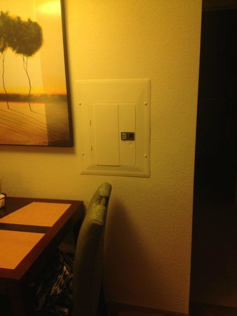 Residence Inn Alexandria Old Town South at Carlyle: fuse box in middle of wall
