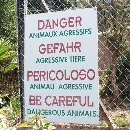 Parc Zoologique de Frejus : Pourquoi sont ils agressifs ?