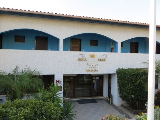 Roca Mar : вход в отель