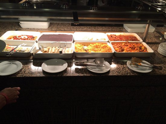 Hotel Riu Tequila: Dinner buffet.