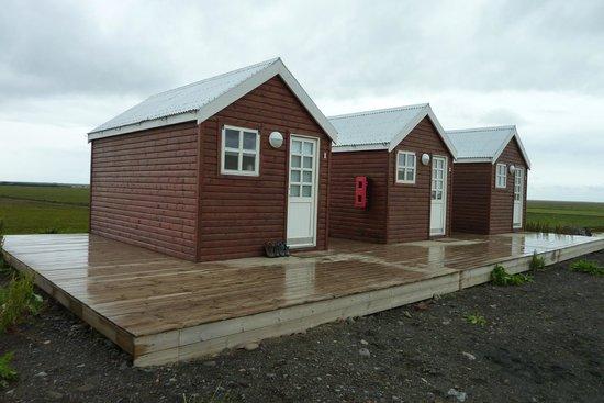 Vatnsholt: The Three Cabins