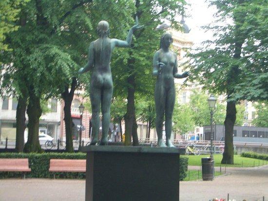 The Esplanadi Park: helsinki - parco
