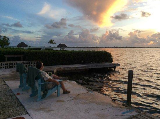 Parmer's Resort : Coffee & Sunrise!