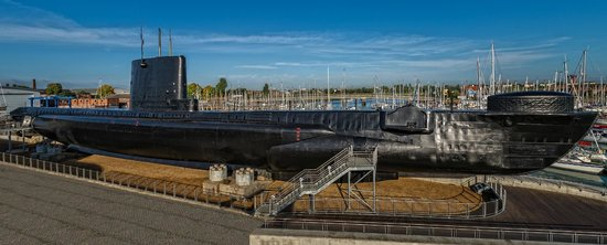 HMS Alliance at the Royal Navy Submarine Museum, Gosport