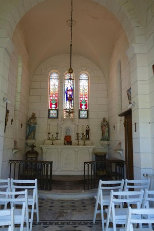 Chateau de Fayolle: Charming Chapel