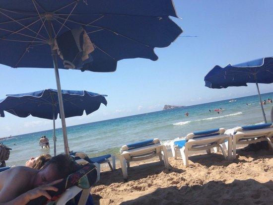Marconfort Benidorm Suites: Gorgeous beach
