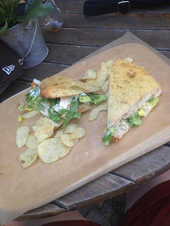 KRONE, kitchen & coffee : sandwich de compét