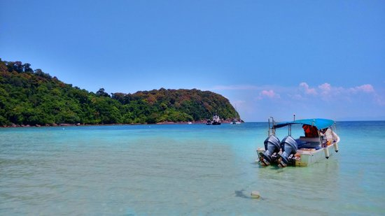 Tenggol Coral Beach Resort: great place, can go snorkeling at shore