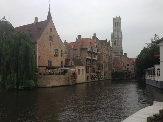 De Barge Hotel: A view of the Bruge