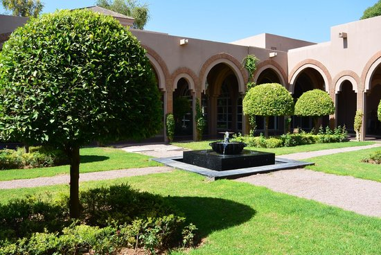 Pullman Marrakech Palmeraie Resort and Spa : parc