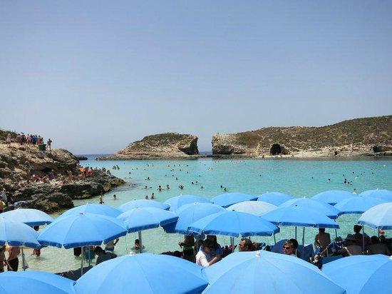 Blue Lagoon: Blaue Lagune, halbvoll