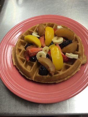 Sunrise Pancake and Waffle House: Sunrise waffle