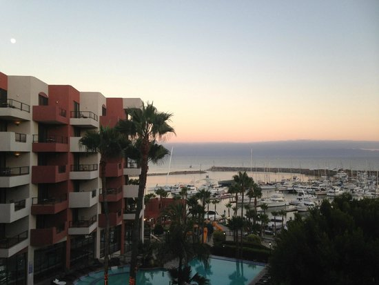 Hotel Coral & Marina: Room view from the room 416!