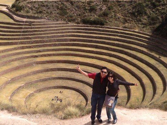 cusco house: Maras - moray