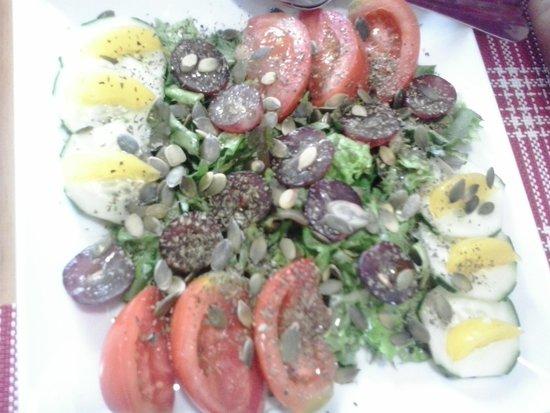 Zezinho Das Mocas : Fresh salad