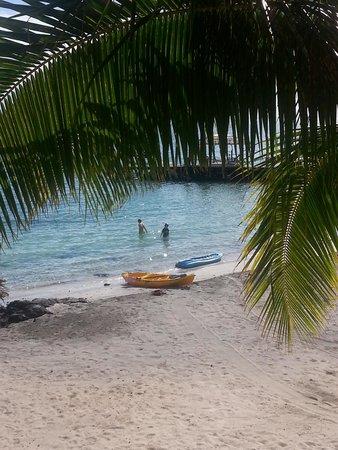 Va-i-Moana Seaside Lodge: Kayaks