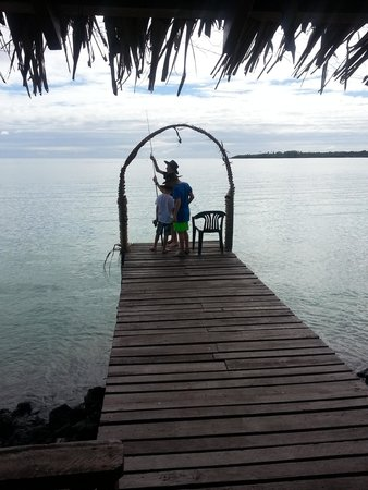 Va-i-Moana Seaside Lodge: Fishing
