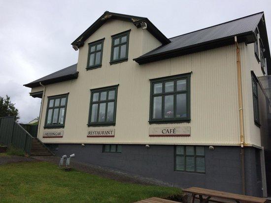 The Settlement Center Restaurant: Exterior