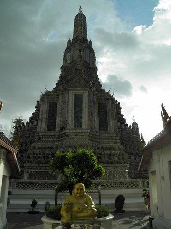 Wat Arun (Tempel der Morgenröte): Entrada al Wat Arun
