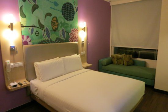 ibis Styles Kuala Lumpur Fraser Business Park : Standard double room