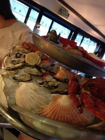 Le Bar a Huitres Place des Vosges: То самое блюдо
