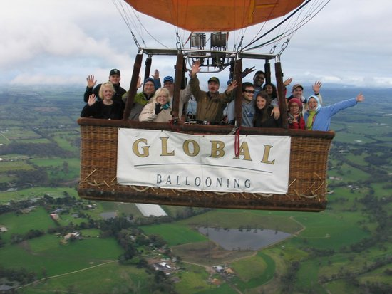Global Ballooning - Melbourne and Yarra Valley: Global Ballooning