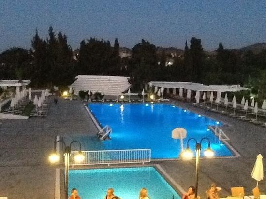Platanista Hotel : vue de la terrasse