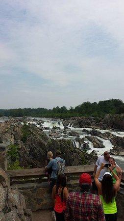 Great Falls Park: The falls