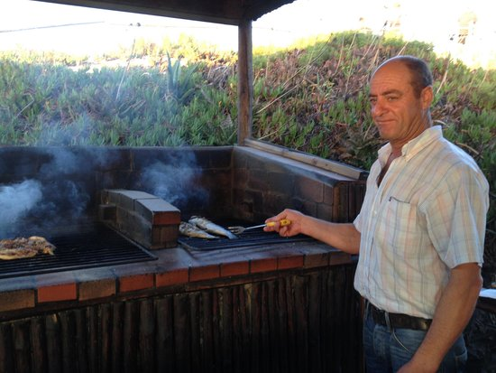 Restaurante A Choupana : Fish on the BBQ