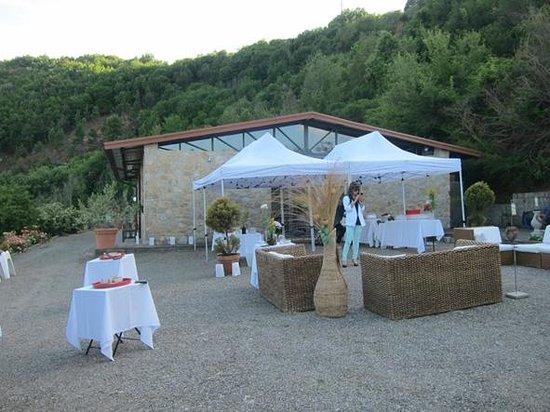 Agriturismo Le Valli : La zona del aperitivo