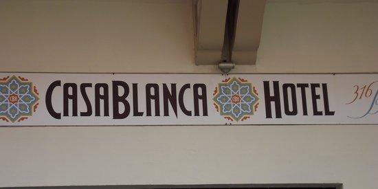 CasaBlanca Hotel: Outside