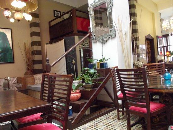 CasaBlanca Hotel: resaurant lobby