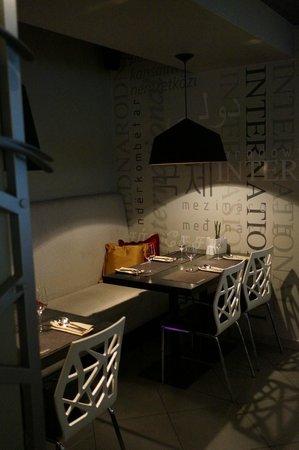 International SV: ресторан