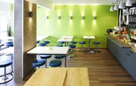 Ibis Budget Haguenau : Salle petit déjeuner