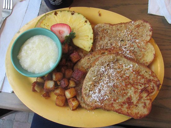 The Island Cow : Coconut french toast
