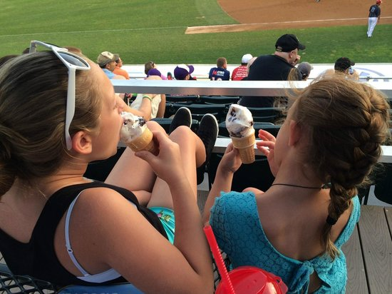 Metro Bank Park: Ice Cream