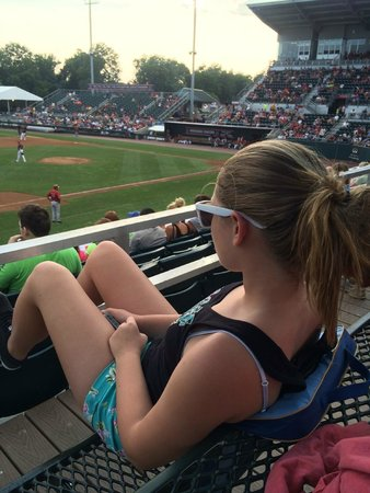 Metro Bank Park: Enjoying the view