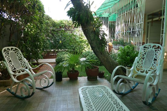 La Casa de Ana: The little patio
