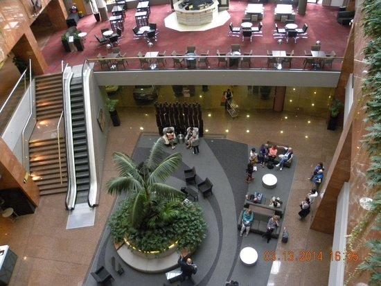 Grand Millennium Auckland : Hall del hotel