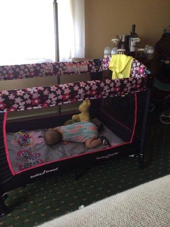 The Mimslyn Inn : Plenty of room for baby